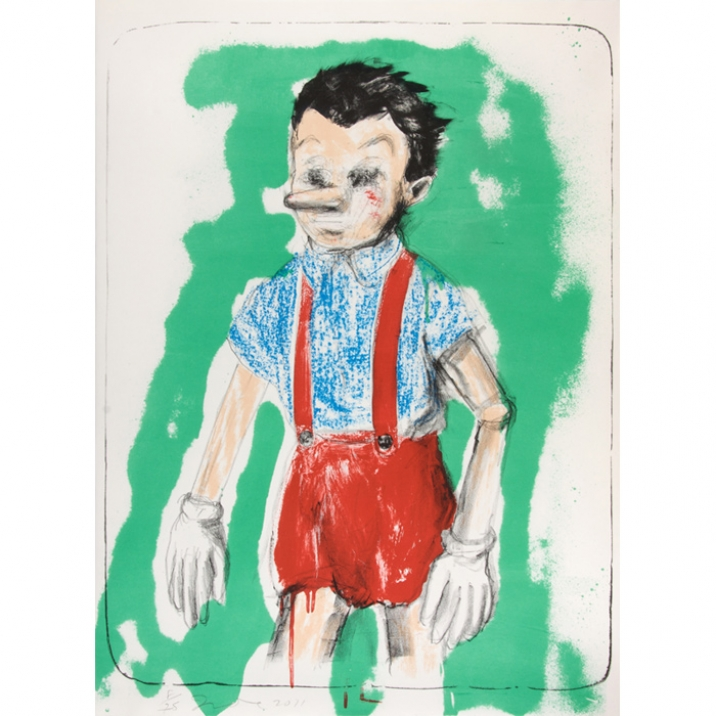 Jim Dine, Lithograph