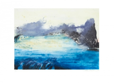 ZAO WOU-KI, ETCHING WITH AQUATINT  N° 326